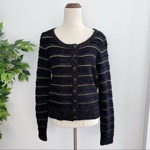 Dotti Women's Size L Button Front Knit Cardigan